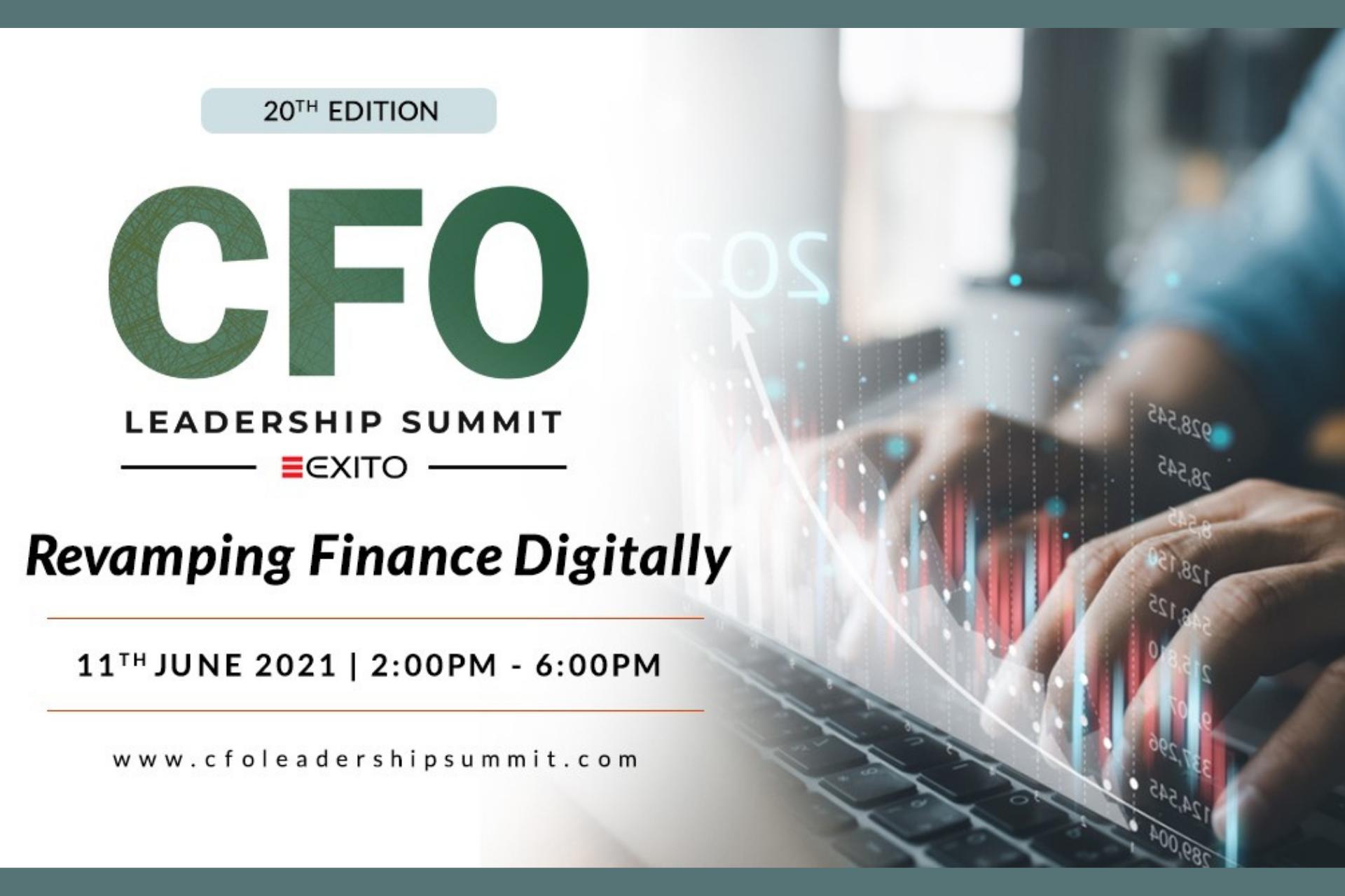 20th Edition CFO Leadership Summit: revamping finance digitally