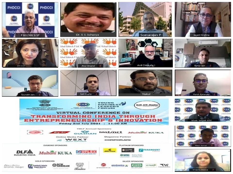 """Promoting Entrepreneurship is the Key to Building Aatmanirbhar Bharat"", says Dr. SS Acharya, General Manager, SIDBI"